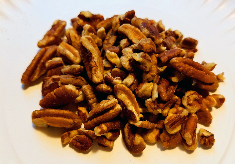 Smoked Candied Pecans